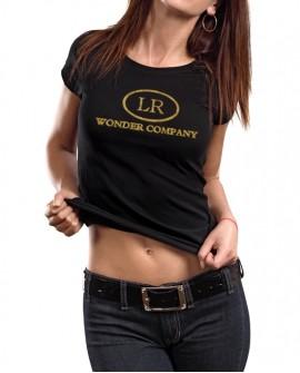 <p>T-shirt donna 'Born in Hollywood, made in Italy', 100% cotone.<br /> Prima edizione limitata </p>  LR WONDER COMPANY