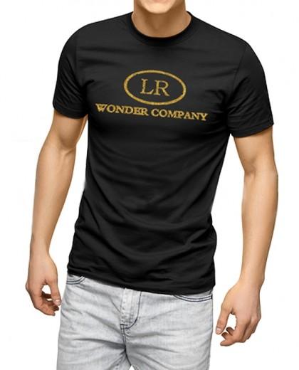 T-Shirt uomo 'Born in Hollywood' <p>1° edizione limitata LR WONDER COMPANY