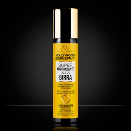 Spray abbronzante alla birra Hollywood Beer Spray LR Wonder Company, creme solari