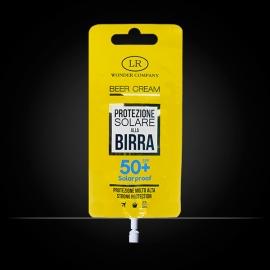 Beer Cream crema protezione solare alla birra fattore 50 LR Wonder Company, protezione solare