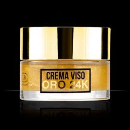 Hollywood Gold crema viso oro 24 carati LR Wonder Company, Oro 24kt