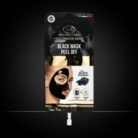 Hollywood Black Mask maschera viso nera LR Wonder Company, bustine