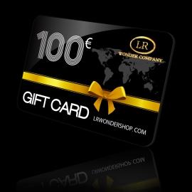 Gift Card Buono Regalo da 100 euro coupon sconto LR Wonder Shop Company, Gift Card