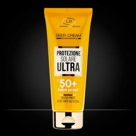 Beer Cream tubo crema viso corpo protezione solare 50+ molto alta LR Wonder Company, Solari alla birra