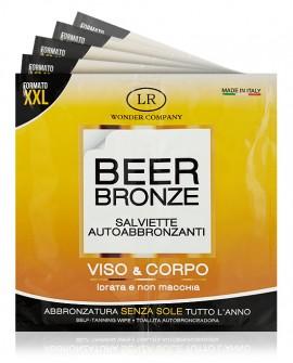 Beer Bronze salviette autoabbronzanti alla birra LR Wonder bustina x3