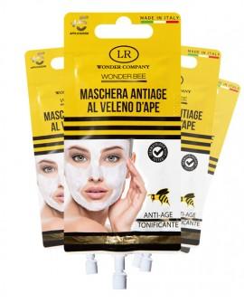 Wonder Bee maschera viso antiage antirughe LR Wonder Company