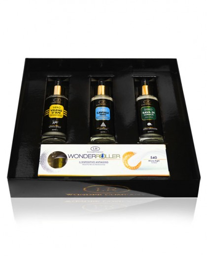 Wonder Roller Box - limited edition Dermaroller + 3 sieri
