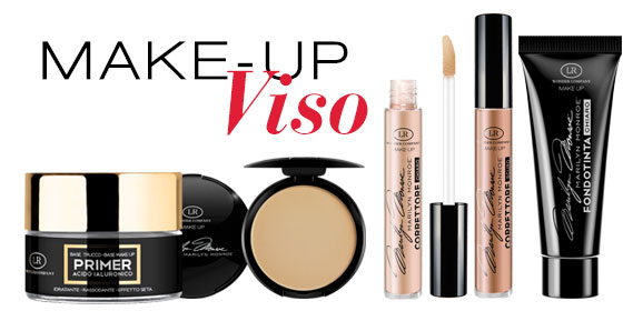 Marilyn Monroe makeup viso LR Wonder Company