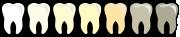 <br>Sbiancante denti a led, kit per lo sbiancamento dei denti con gel e USB