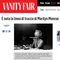 Vanity Fair: è nata la linea Marilyn Monroe Make Up